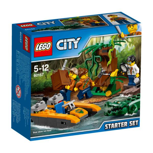 LEGO 60157 - Starter set della Giungla LEGO CITY Maschio 12+ Anni, 3-5 Anni, 5-8 Anni, 8-12 Anni ALTRI