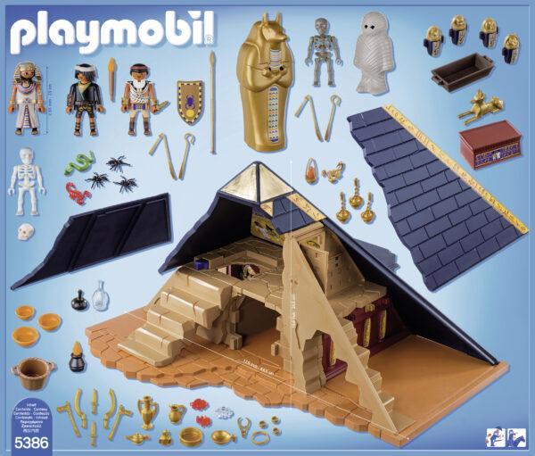 Grande piramide del faraone ALTRI Maschio 3-4 Anni, 3-5 Anni, 5-7 Anni, 5-8 Anni, 8-12 Anni PLAYMOBIL - HISTORY