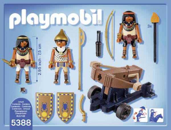 Soldati egizi con lanciadardi ALTRI Maschio 3-4 Anni, 3-5 Anni, 5-7 Anni, 5-8 Anni, 8-12 Anni PLAYMOBIL - HISTORY