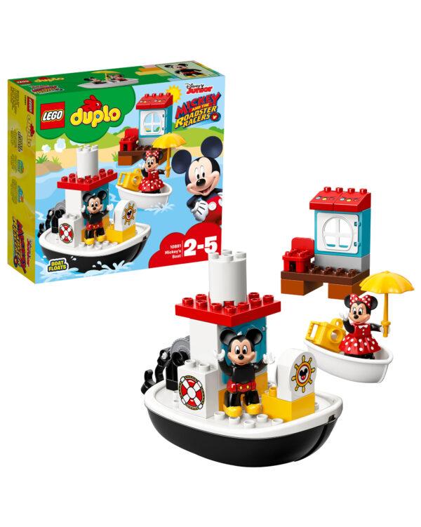 10881 - La barca di Topolino - Lego Duplo - Toys Center LEGO DUPLO Unisex 12-36 Mesi, 12+ Anni, 3-5 Anni, 5-8 Anni, 8-12 Anni ALTRI