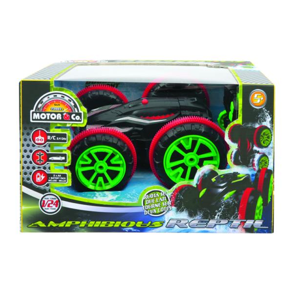 MOTOR&CO Auto radiocomandata Amphibious reptil TOYS CENTER Maschio 12+ Anni, 8-12 Anni MOTOR & CO