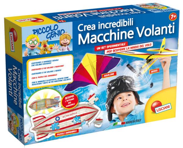 Piccolo Genio Incredibili macchine volanti - Piccolo Genio - Toys Center PICCOLO GENIO Unisex 12+ Anni, 5-7 Anni, 5-8 Anni, 8-12 Anni ALTRI