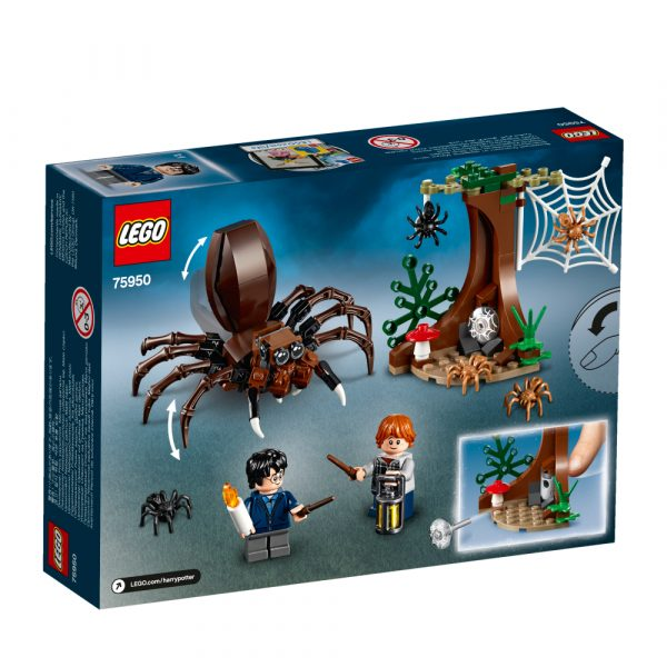 75950 - Harry Potter - Il covo di Aragog - Warner Bros. - Toys Center HARRY POTTER Unisex 12+ Anni, 5-8 Anni, 8-12 Anni LEGO® Harry Potter™, WARNER BROS.