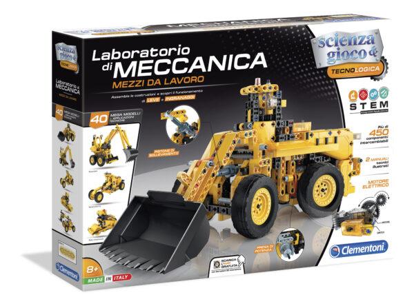 Laboratoio di Meccanica - Mezzi da lavoro - Focus / Scienza&gioco - Toys Center FOCUS / SCIENZA&GIOCO Maschio 8-12 Anni ALTRI