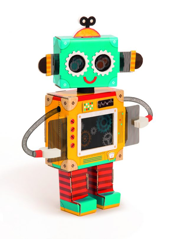 PLAY CREATIVE - CREA IL TUO ROBOT - PLAY CREATIVE - Kit artistici e pittura