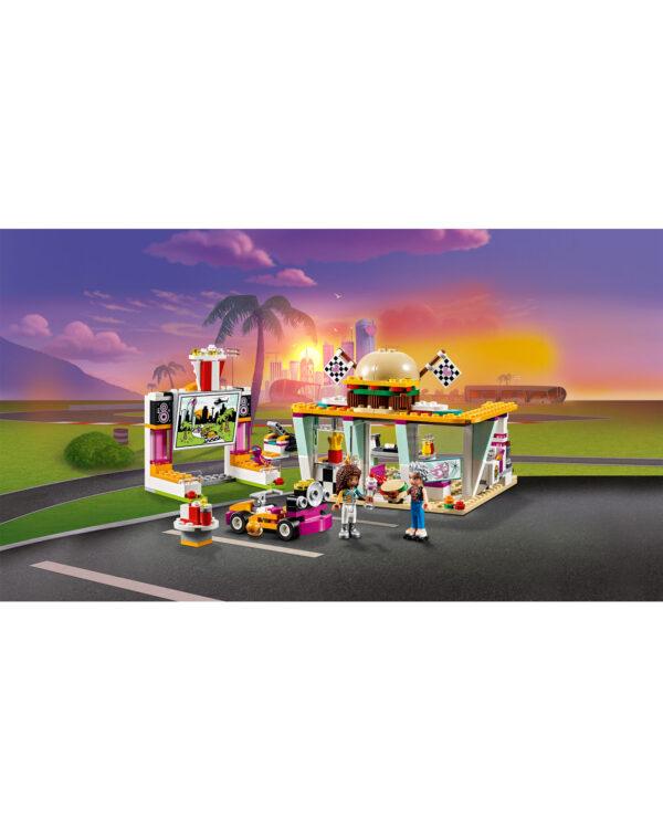 LEGO 41349 - Il fast-food del go-kart ALTRI Unisex 12+ Anni, 5-8 Anni, 8-12 Anni LEGO FRIENDS