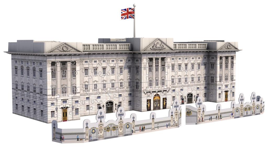 Buckingham Palace - Puzzle 3D Building Ravensburger 12524 ...