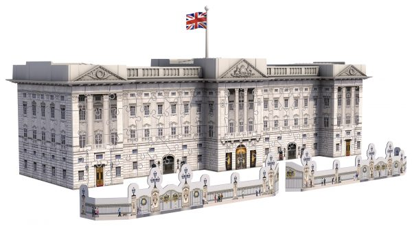 Buckingham Palace - Puzzle 3D Building Ravensburger 12524 - Ravensburger Puzzle 3d - Toys Center ALTRI Unisex 12+ Anni, 8-12 Anni RAVENSBURGER PUZZLE 3D