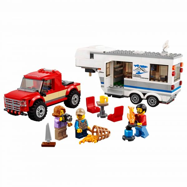 LEGO CITY ALTRI 60182 - Pickup e Caravan - Lego City - Toys Center Maschio 12+ Anni, 3-5 Anni, 5-8 Anni, 8-12 Anni