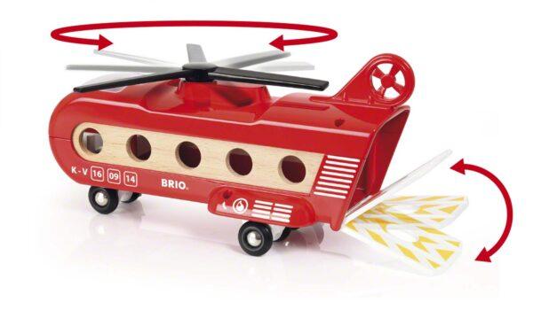 BRIO ACCESSORI ALTRI BRIO Elicottero trasporto merci Unisex 12-36 Mesi, 3-5 Anni, 5-8 Anni, 8-12 Anni