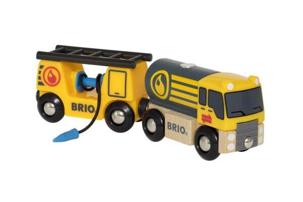 BRIO Camion cisterna - Brio Trenini, Vagoni E Altri Veicoli - Toys Center BRIO TRENINI, VAGONI E ALTRI VEICOLI Unisex 12-36 Mesi, 3-5 Anni, 5-8 Anni, 8-12 Anni ALTRI