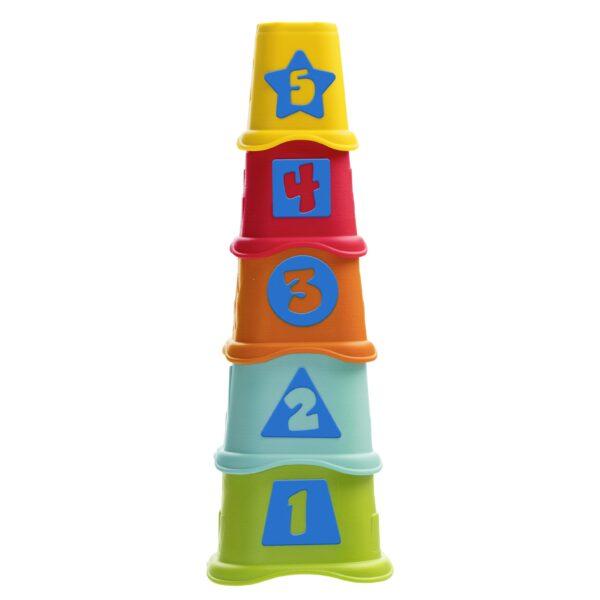2IN1 TAZZE IMPILABILI - Chicco - Toys Center Chicco Unisex 0-12 Mesi, 12-36 Mesi ALTRI