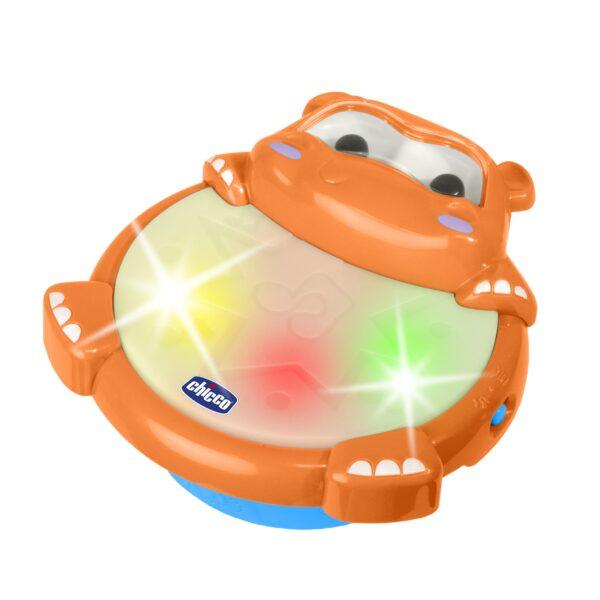 HIPPO TAMBURO - Chicco - Toys Center - Chicco - Strumenti musicali prima infanzia