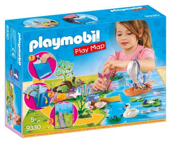 PLAY MAP - IL LAGO DELLE FATE PLAYMOBIL - PLAY MAP Femmina 12+ Anni, 3-5 Anni, 5-8 Anni, 8-12 Anni ALTRI