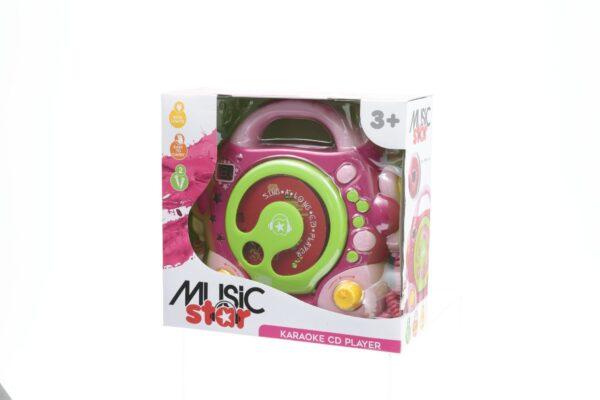 LETTORE CD KARAOKE GIRL - Musicstar - Toys Center - MUSICSTAR - Giochi di intrattenimento e tablet
