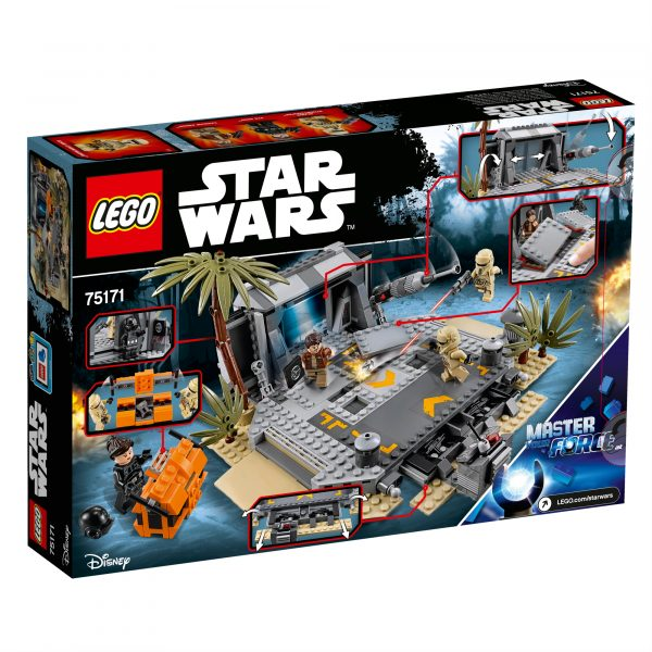 75171 - Battaglia su Scarif - Disney - Toys Center Star Wars Maschio 12+ Anni, 8-12 Anni Disney