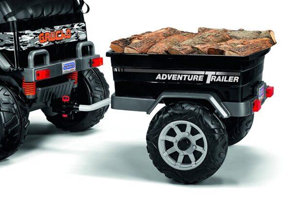 ADVENTURE TRAILER - Altro - Toys Center Peg Perego Unisex 12-36 Mesi, 12+ Anni, 3-5 Anni, 5-8 Anni, 8-12 Anni ALTRI