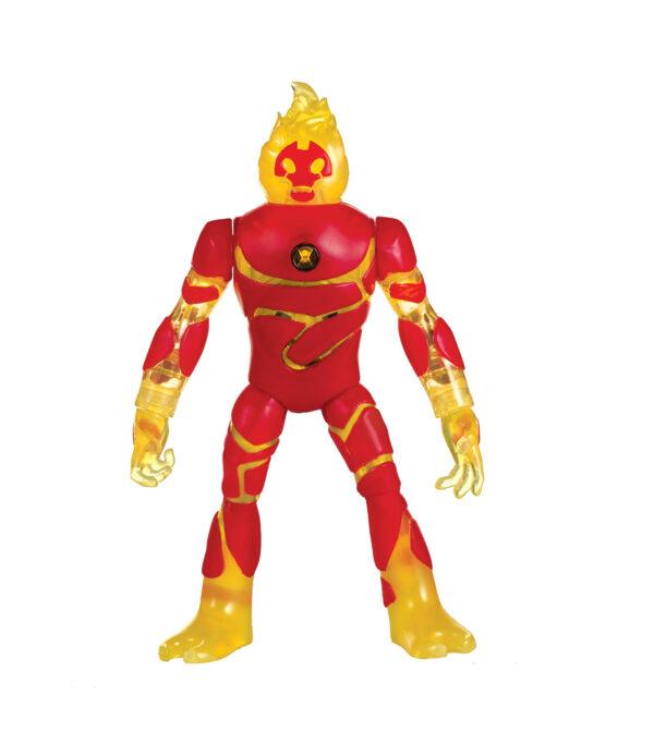 Ben 10 Personaggio Deluxe 18 cm con luci e suoni, Inferno - ALTRO - Action figures