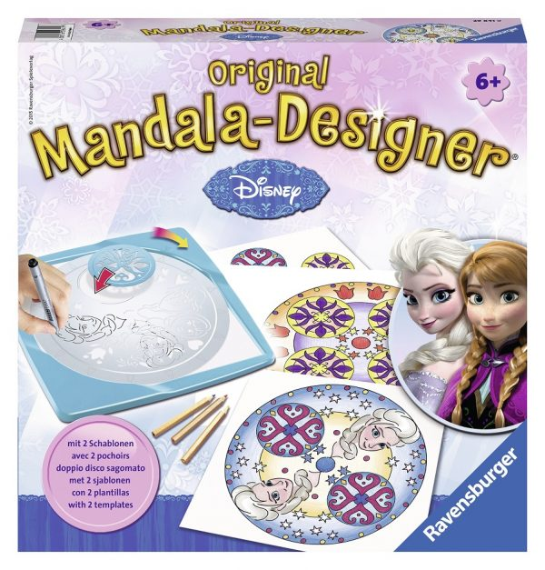 Mandala Designer Frozen - Disney - Toys Center Disney Femmina 5-7 Anni, 5-8 Anni, 8-12 Anni Disney Frozen