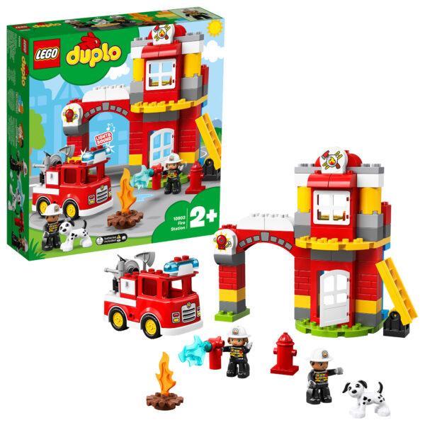 10903 - Caserma dei Pompieri - Lego Duplo - Toys Center LEGO DUPLO Unisex 12-36 Mesi, 12+ Anni, 3-5 Anni, 5-8 Anni, 8-12 Anni ALTRI