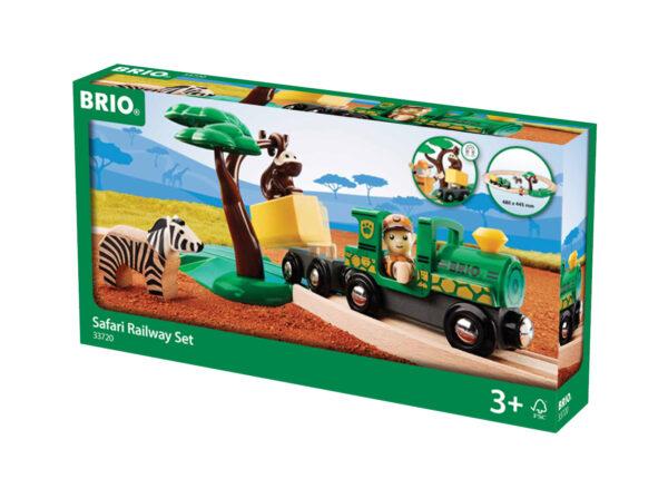 BRIO starter set ferrovia safari BRIO Unisex 12-36 Mesi, 3-4 Anni, 3-5 Anni, 5-7 Anni, 5-8 Anni ALTRI