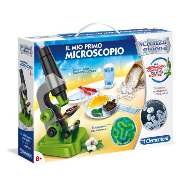 IL MIO PRIMO MICROSCOPIO - Focus _ Scienza&gioco - Toys Center FOCUS _ SCIENZA&GIOCO Unisex 12+ Anni, 5-8 Anni, 8-12 Anni ALTRI