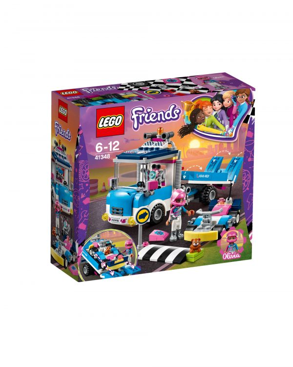 LEGO Friends 41348 - Camion di servizio e manutenzione LEGO FRIENDS Unisex 12+ Anni, 5-8 Anni, 8-12 Anni ALTRI