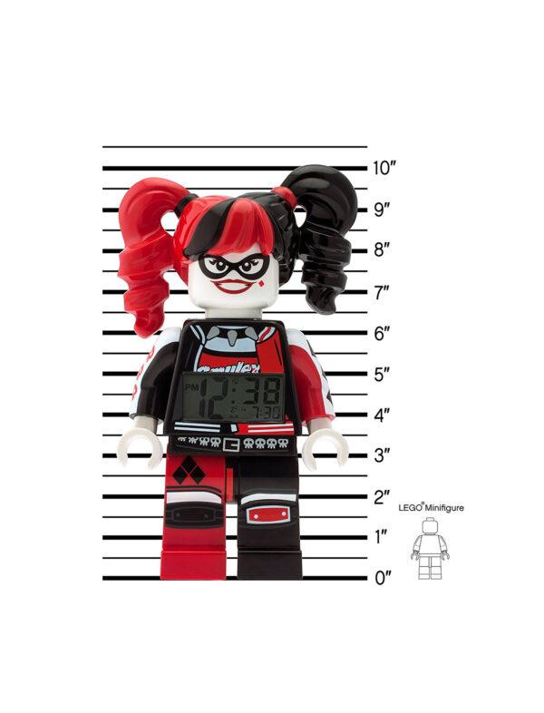 Sveglia LEGO Batman Movie Harley Quin - DC SUPER HERO GIRLS - Personaggi 12+ Anni, 5-8 Anni, 8-12 Anni Unisex DC COMICS DC SUPERHERO GIRLS
