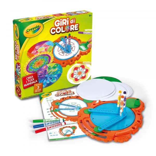 Giri di Colore Crayola ALTRI Unisex 12+ Anni, 5-8 Anni, 8-12 Anni ALTRO
