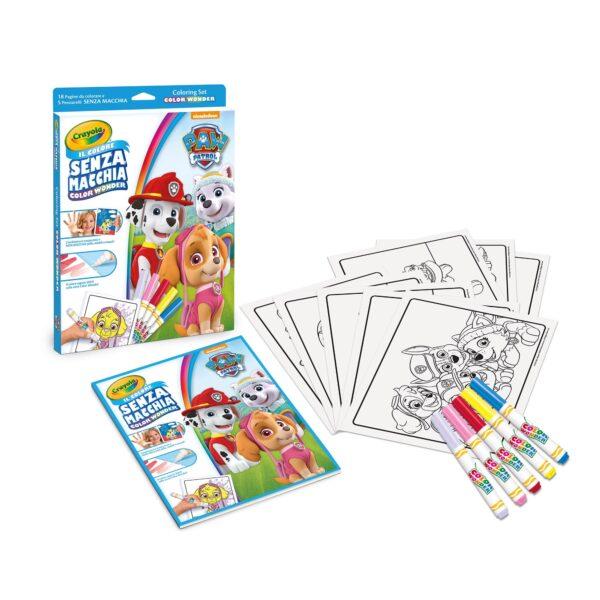 Coloring Set Color Color Wonder Paw Patrol PAW PATROL Unisex 12-36 Mesi, 3-5 Anni, 5-8 Anni ALTRO
