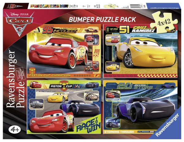 Bumper Pack 4x42 - Cars 3 - Altro - Toys Center - ALTRO - Fino al -20%