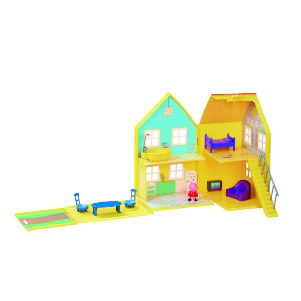 Giochi Preziosi - Peppa Pig la Grande Casa Deluxe PEPPA PIG Unisex 12-36 Mesi, 3-5 Anni, 5-8 Anni PEPPA PIG