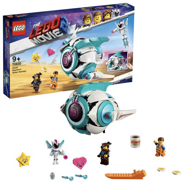 70830 - L'astronave Sorellare di Dolce Sconquasso! - The LEGO Movie 2 - LEGO - Marche ALTRO Unisex 12+ Anni, 8-12 Anni THE LEGO MOVIE 2
