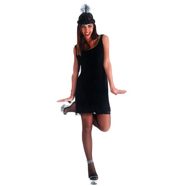 Costume charleston nero T.U. (S-M-L) - ALTRO Unisex 12+ Anni ALTRI