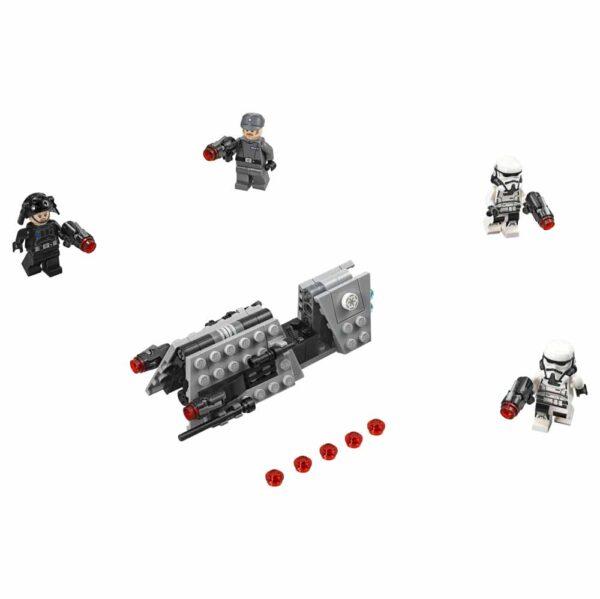 Disney Star Wars 75207 - Battle Pack Pattuglia imperiale - Disney - Toys Center Unisex 12+ Anni, 5-8 Anni, 8-12 Anni
