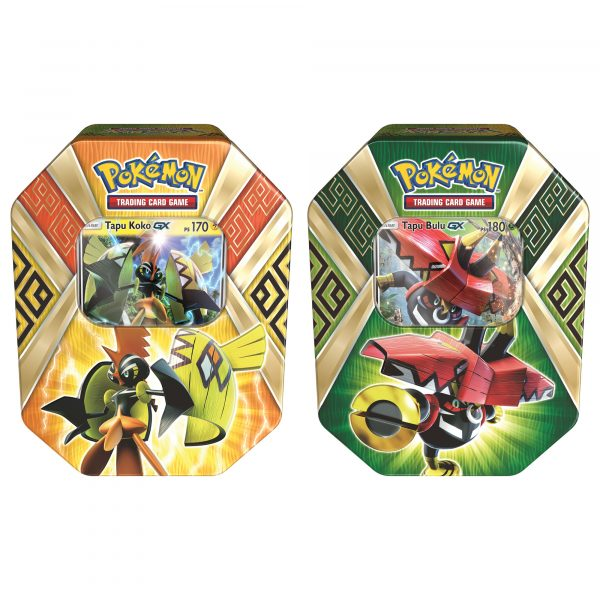 Pokemon Tin da collezione Protettori delle isole assortito (IT) - ALTRO - Action figures