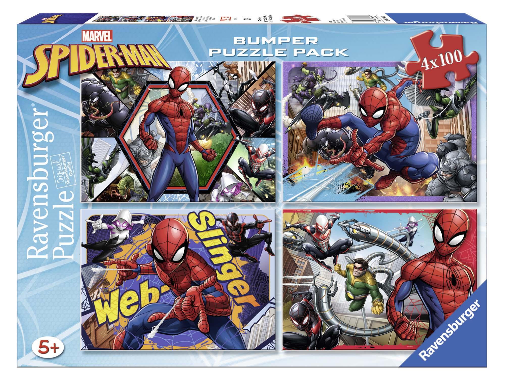 Bumper pack 4x100 - spiderman - altro - toys center - ALTRO