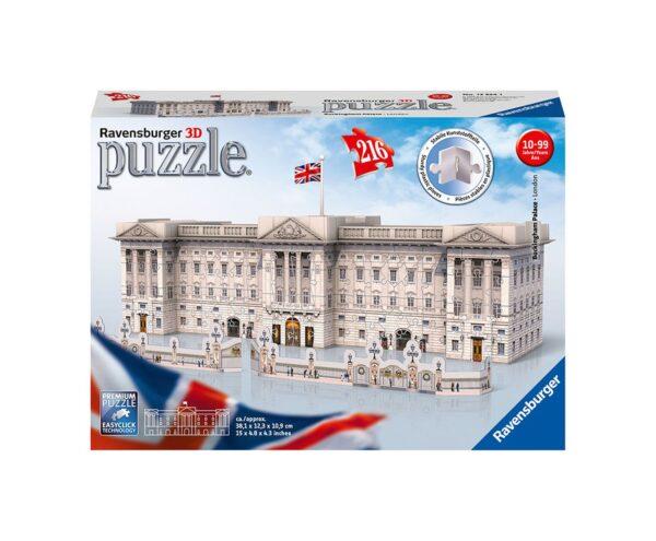 Buckingham Palace - Puzzle 3D Building Ravensburger 12524 - Ravensburger Puzzle 3d - Toys Center RAVENSBURGER PUZZLE 3D Unisex 12+ Anni, 8-12 Anni ALTRI