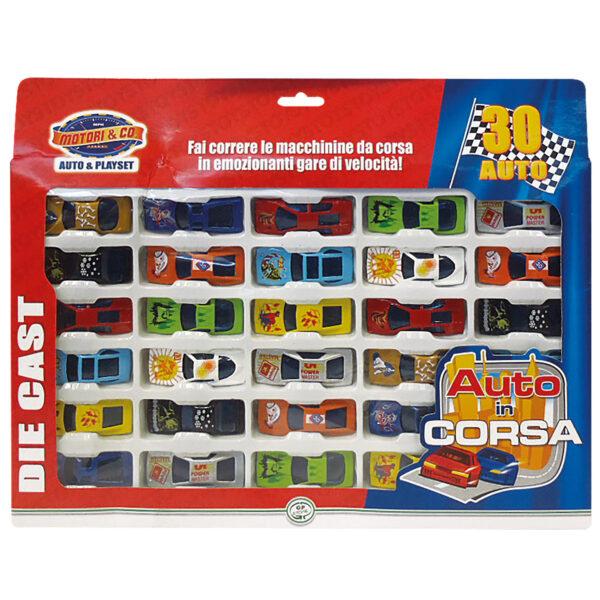 SET 30 AUTO 1/64 DIE CAST - Motor&co - Toys Center - MOTOR&CO - Veicoli e piste giocattolo