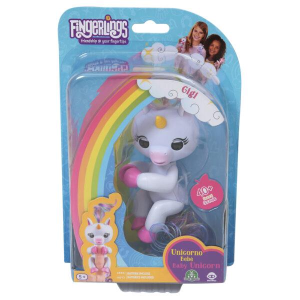 Giochi Preziosi - Fingerlins Unicorno Gigi - Altro - Toys Center ALTRO Femmina 12+ Anni, 8-12 Anni ALTRI