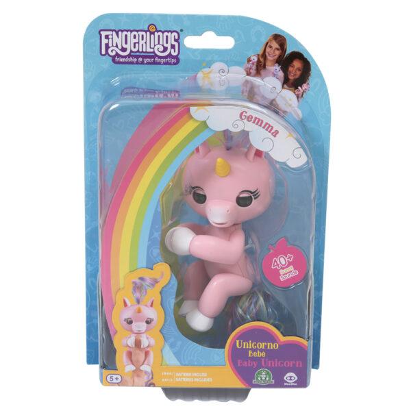 Giochi Preziosi - Fingerlins Unicorno Gemma - Altro - Toys Center - ALTRO - Personaggi collezionabili