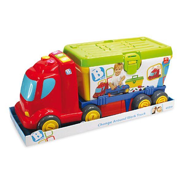 SS14 CAMION CON ATTREZZI - B-kids - Toys Center - B-KIDS - Giochi di apprendimento prescolare