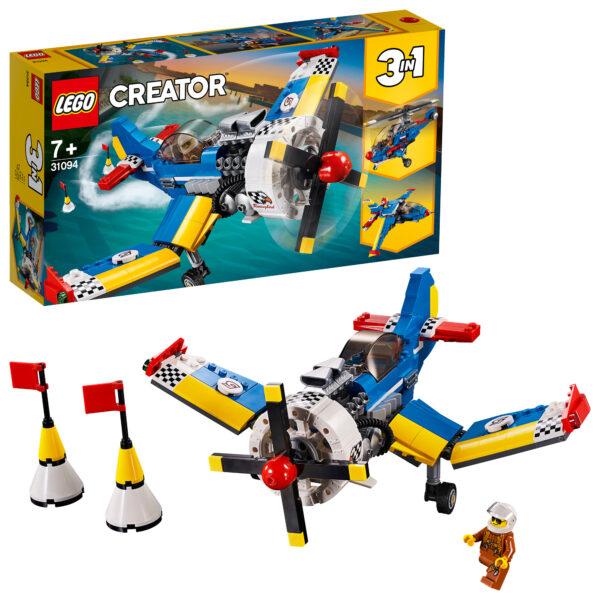 31094 - Aereo da corsa - Lego Creator - Toys Center LEGO CREATOR Unisex 12+ Anni, 5-8 Anni, 8-12 Anni ALTRI