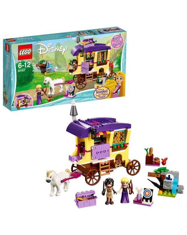 DISNEY PRINCESS PRINCIPESSE DISNEY 41157 - Il caravan di Rapunzel - Disney Princess - Toys Center Unisex 12+ Anni, 5-8 Anni, 8-12 Anni