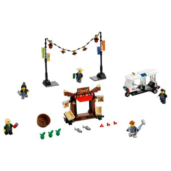 LEGO NINJAGO ALTRI 70607 - Inseguimento a NINJAGO® City - Lego Ninjago - Toys Center Maschio 12+ Anni, 5-8 Anni, 8-12 Anni