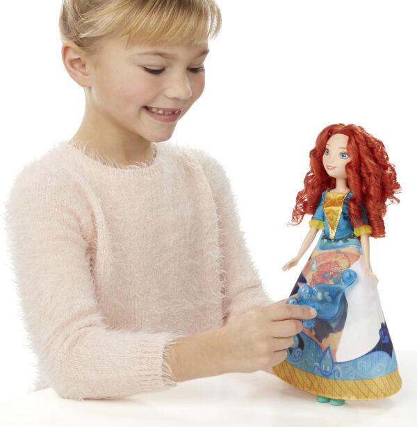 Disney PRINCIPESSE DISNEY Story Skirt Merida Femmina 12-36 Mesi, 3-4 Anni, 3-5 Anni, 5-7 Anni, 5-8 Anni