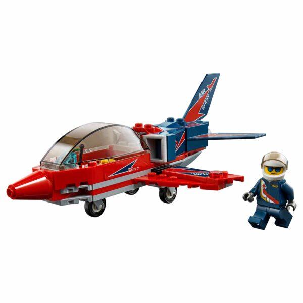 60177 - Jet acrobatico ALTRI Maschio 12+ Anni, 3-5 Anni, 5-8 Anni, 8-12 Anni LEGO CITY