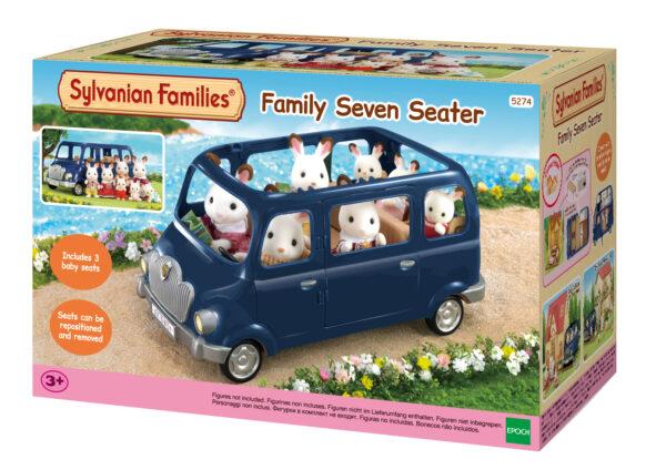 Auto 7 posti SYLVANIAN FAMILIES Femmina 12-36 Mesi, 3-4 Anni, 3-5 Anni, 5-7 Anni, 5-8 Anni, 8-12 Anni ALTRI