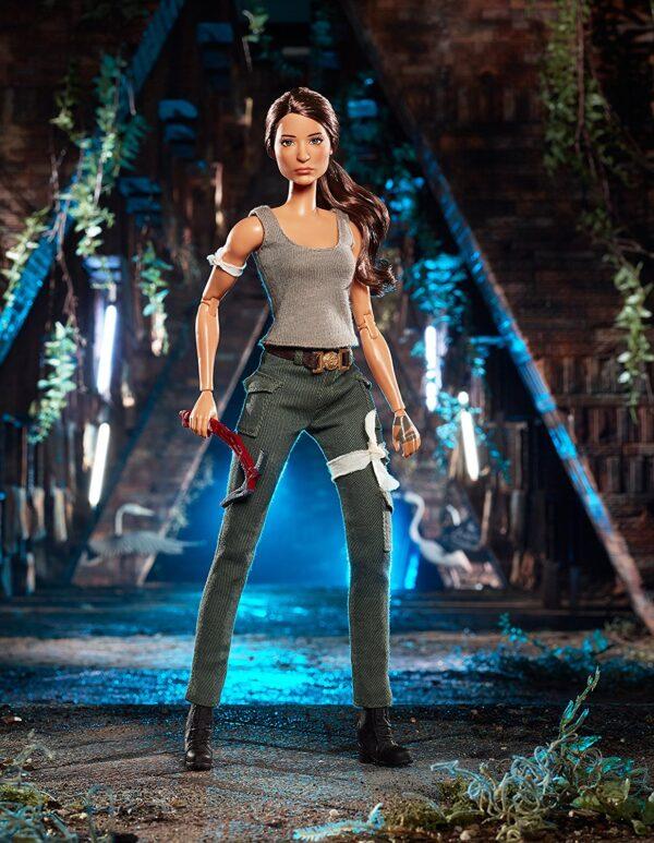 ALTRI Barbie Femmina 12+ Anni Barbie collectors - Tomb Raider Lara Croft, dal nuovo film di Tomb Raider, da collezione - FJH53