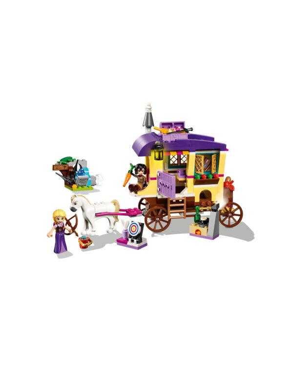 PRINCIPESSE DISNEY DISNEY PRINCESS Unisex 12+ Anni, 5-8 Anni, 8-12 Anni 41157 - Il caravan di Rapunzel - Disney Princess - Toys Center